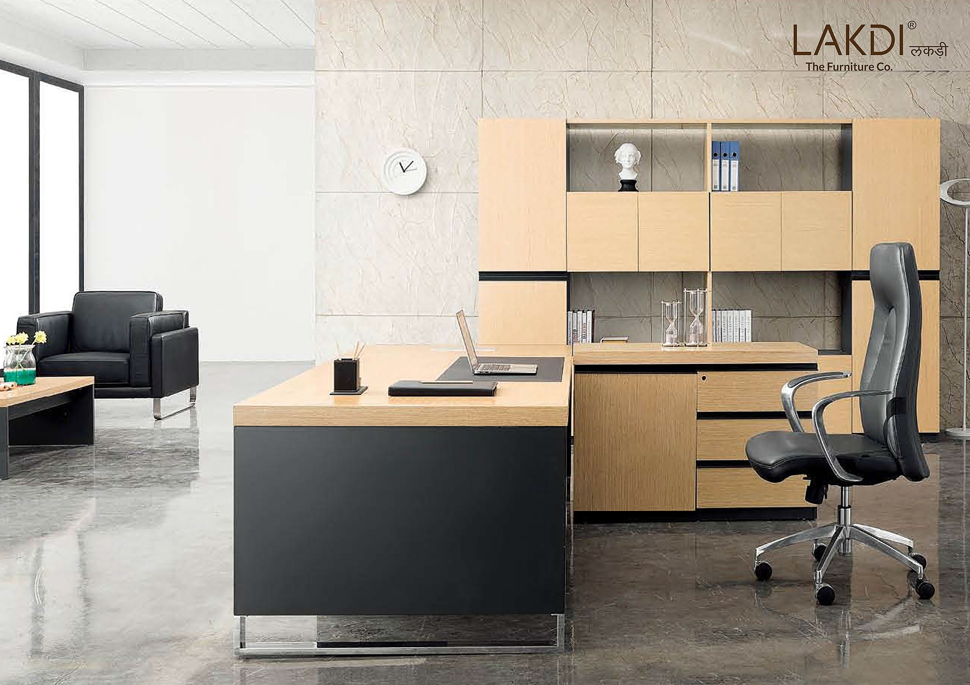 How To Make The Best Use Of Space With A Small Office Lakdi The Furniture Co Guides